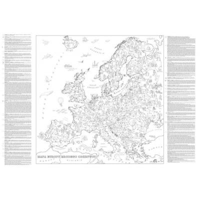 Kolorowanka Mapa Europy Gma207